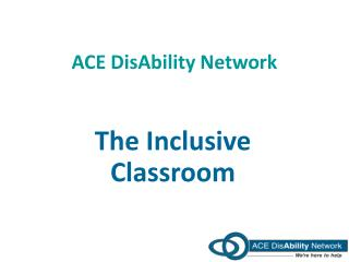 ACE  DisAbility  Network