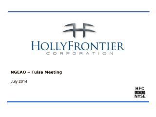 NGEAO – Tulsa Meeting July  2014