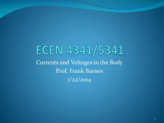 ECEN 4341/5341