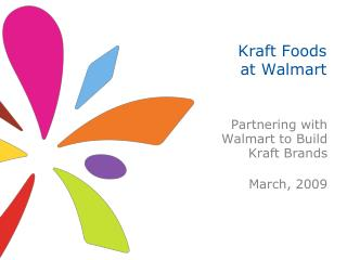 Kraft Foods at Walmart