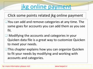 The Best Management sites of jkg online payment