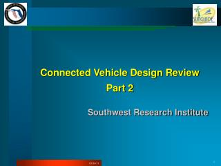 Connected Vehicle Design Review Part 2