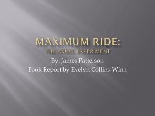 Maximum Ride: The angel experiment