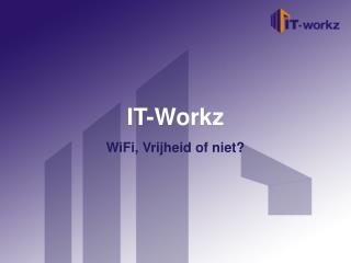 Welkom bij IT-Workz