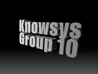 Knowsys Group 10