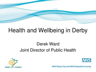Health and Wellbeing in Derby