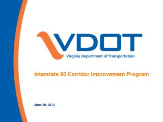 Interstate 95 Corridor Improvement Program