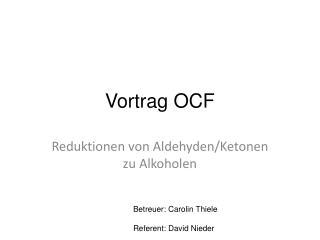 Vortrag OCF