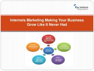 Best internet marketing services  India