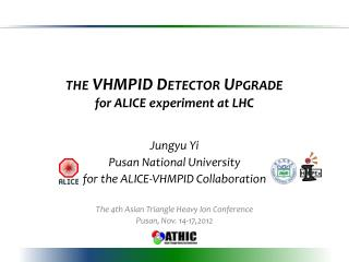 the  VHMPID D etector Upgrade for ALICE experiment at LHC