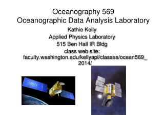 Oceanography 569 Oceanographic Data Analysis Laboratory
