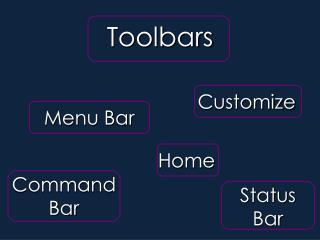 Section III- Toolbars