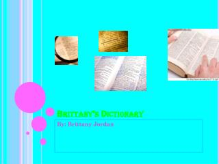 Brittany�s Dictionary