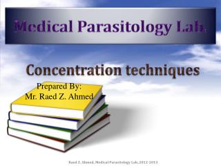 Medical Parasitology Lab.