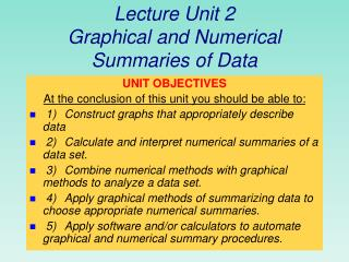 Sections 2.1 and 2.2 Displaying Qualitative and Quantitative Data