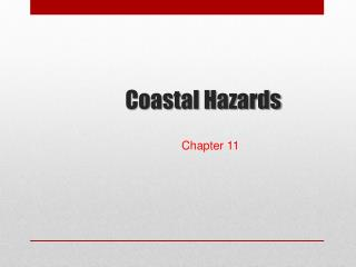 Coastal Hazards