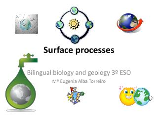 Surface processes