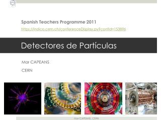 Detectores de Part�culas