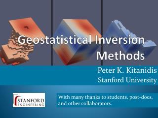 Geostatistical Inversion Methods
