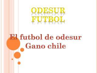 Odesur futbol