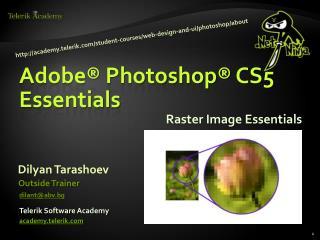 Raster Image Essentials