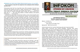 Edisi : IX/10Juni 2 012
