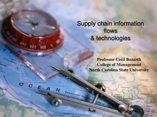 Supply chain information flows  technologies