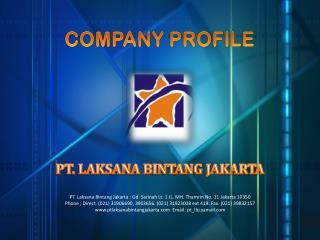 PT. LAKSANA BINTANG JAKARTA