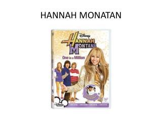 HANNAH MONATAN