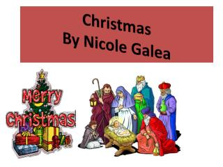 Christmas  By Nicole  Galea
