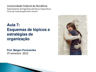 Universidade Federal de Rondônia Departamento de Engenharia de Pesca e Aquicultura