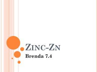 Zinc-Zn