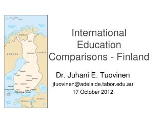International Education Comparisons - Finland