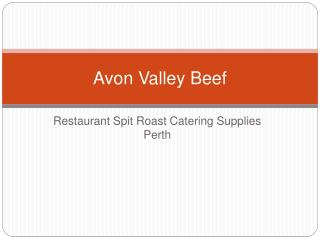 Retail- Restaurant Spit Roast Catering Supplies Perth