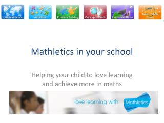 Mathletics in your school