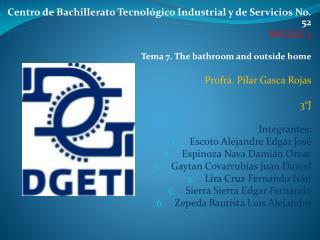 Centro de Bachillerato Tecnológico Industrial y de Servicios No. 52 INGLES 3