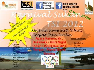 Karnival Sukan TSI 2012