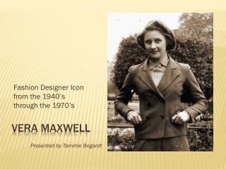 Vera Maxwell