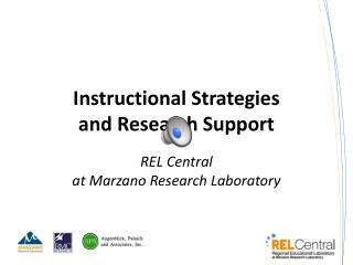 Instructional Strategies and Research Support