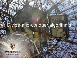 Divide-and-conquer algorithms
