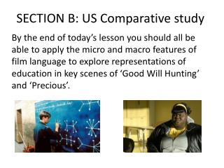 SECTION B: US Comparative study
