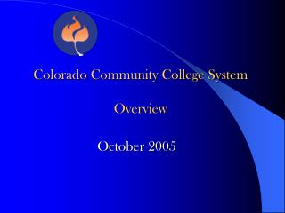 Colorado Community College System Overview