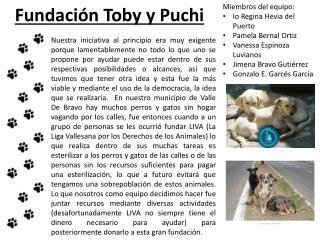Fundación Toby y Puchi