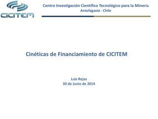 Centro Investigación Científico Tecnológico para la  Miner ía Antofagasta - Chile