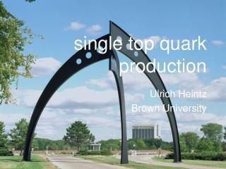 single top quark production