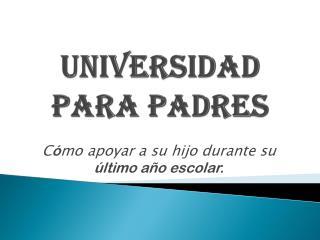 Universidad  para  padres
