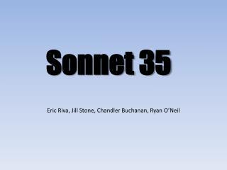 Sonnet 35