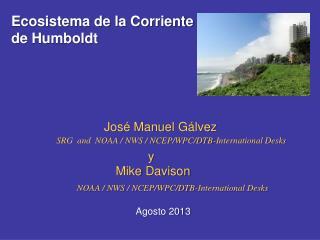 Ecosistema de la Corriente de Humboldt