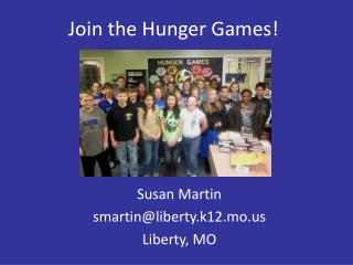 Join the Hunger Games!