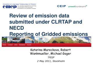 Katarina Mareckova, Robert  Wankmueller, Michael Gager  TFEIP 2 May  2011, Stockholm